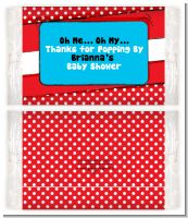 Dr. Seuss Inspired - Personalized Popcorn Wrapper Baby Shower Favors