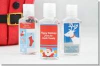 Christmas Hand Sanitizer Favors
