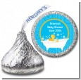 Duck - Hershey Kiss Baby Shower Sticker Labels thumbnail