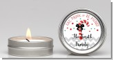 Eat, Drink & Be Merry - Christmas Candle Favors