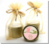 Elephant Baby Pink - Baby Shower Gold Tin Candle Favors