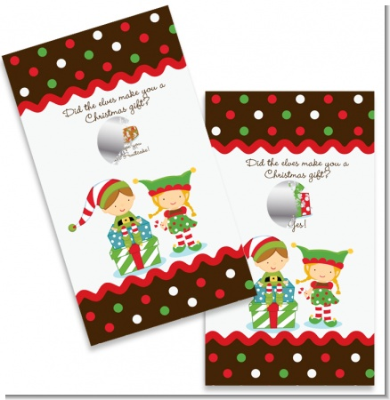 Santa's Little Elf - Christmas Scratch Off Game Tickets