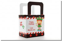 Santa's Little Elfie - Personalized Christmas Favor Boxes