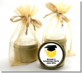Emoji Graduate - Graduation Party Gold Tin Candle Favors