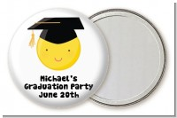 Emoji Graduate - Personalized Graduation Party Pocket Mirror Favors