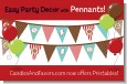 Cookie Exchange - Christmas Themed Pennant Set thumbnail