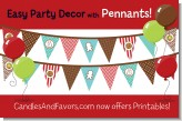 Cookie Exchange - Christmas Themed Pennant Set