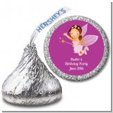 Fairy Princess - Hershey Kiss Birthday Party Sticker Labels