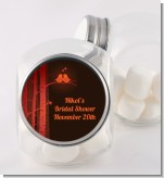 Fall Love Birds - Personalized Bridal Shower Candy Jar