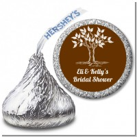 Fall Tree - Hershey Kiss Bridal Shower Sticker Labels