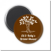 Fall Tree - Personalized Bridal Shower Magnet Favors