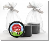 Farm Boy - Birthday Party Black Candle Tin Favors