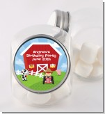 Farm Boy - Personalized Birthday Party Candy Jar