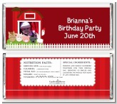 Farm Animals - Personalized Birthday Party Photo Candy Bar Wrappers