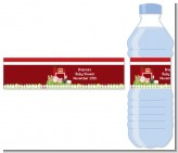 Farm Animals - Personalized Baby Shower Water Bottle Labels
