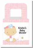 Little Girl Doctor On The Way - Personalized Baby Shower Favor Boxes