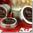 Festive Ornaments - Christmas Candle Favors thumbnail