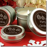 Festive Ornaments - Christmas Candle Favors