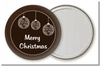 Festive Ornaments - Personalized Christmas Pocket Mirror Favors