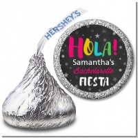 Fiesta - Hershey Kiss Bridal Shower Sticker Labels