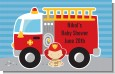 Future Firefighter - Personalized Baby Shower Placemats thumbnail