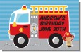 Future Firefighter - Personalized Birthday Party Placemats thumbnail
