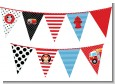 Future Firefighter - Baby Shower Themed Pennant Set thumbnail