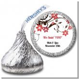 Floral Blossom - Hershey Kiss Bridal Shower Sticker Labels