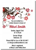 Floral Blossom - Bridal Shower Petite Invitations