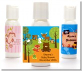 Forest Animals - Personalized Baby Shower Lotion Favors