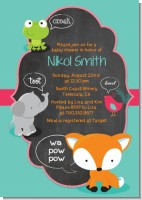 Fox and Friends - Baby Shower Invitations