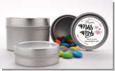 From Miss To Mrs - Custom Bridal Shower Favor Tins