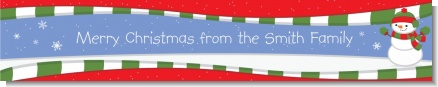 Frosty the Snowman - Personalized Christmas Banners