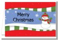 Frosty the Snowman - Christmas Thank You Cards thumbnail