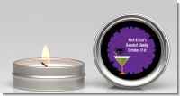 Funky Martini - Halloween Candle Favors