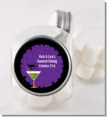 Funky Martini - Personalized Halloween Candy Jar