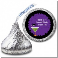 Funky Martini - Hershey Kiss Halloween Sticker Labels