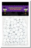 Funky Martini - Custom Halloween Treat Bag Topper