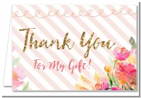 Fun to be One - 1st Birthday Girl - Birthday Party Thank You Cards
