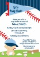 Future Baseball Player - Baby Shower Invitations thumbnail