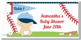 Future Baseball Player - Personalized Baby Shower Place Cards