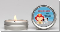 Future Firefighter - Baby Shower Candle Favors