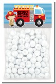 Future Firefighter - Custom Birthday Party Treat Bag Topper