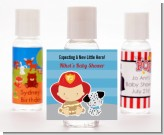 Future Firefighter - Personalized Baby Shower Hand Sanitizers Favors
