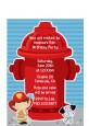 Future Firefighter - Birthday Party Petite Invitations thumbnail