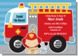 Future Firefighter - Baby Shower Invitations thumbnail
