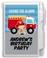 Future Firefighter - Birthday Party Personalized Notebook Favor thumbnail