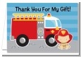 Future Firefighter - Baby Shower Thank You Cards thumbnail