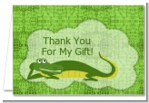 Gator - Birthday Party Thank You Cards