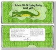 Gator - Personalized Birthday Party Candy Bar Wrappers thumbnail
